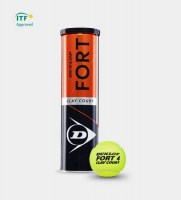 Dunlop Fort Clay Court 4er