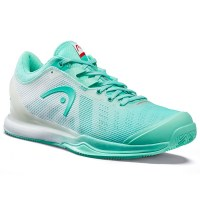 HEAD Sprint Pro 3.0 Clay Women TEWH Teal White_0